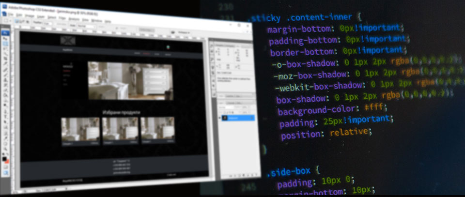 design to html, psd to html